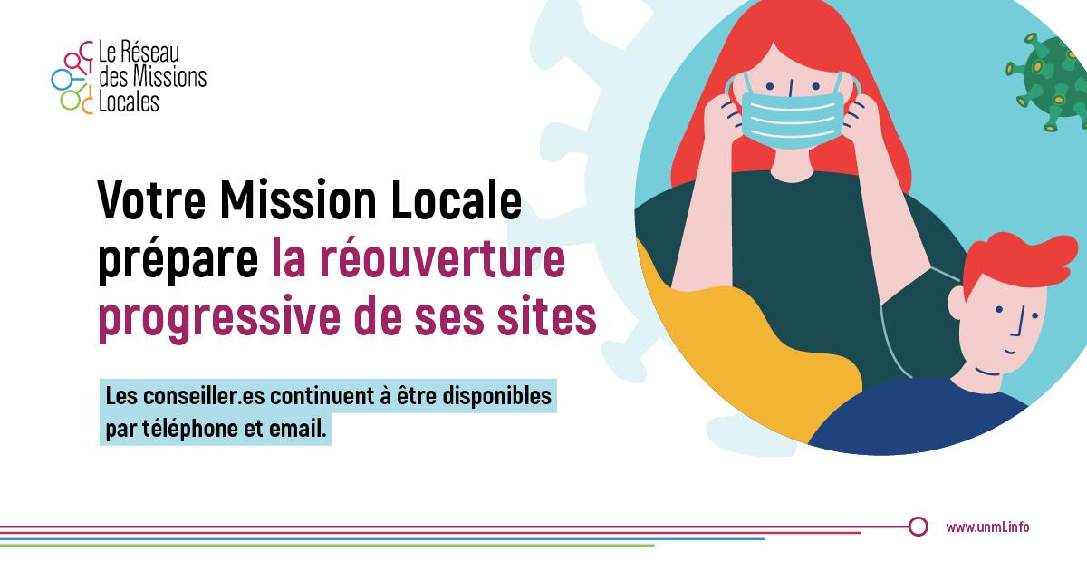 Votre Mission Locale prépare la réouverture progressive