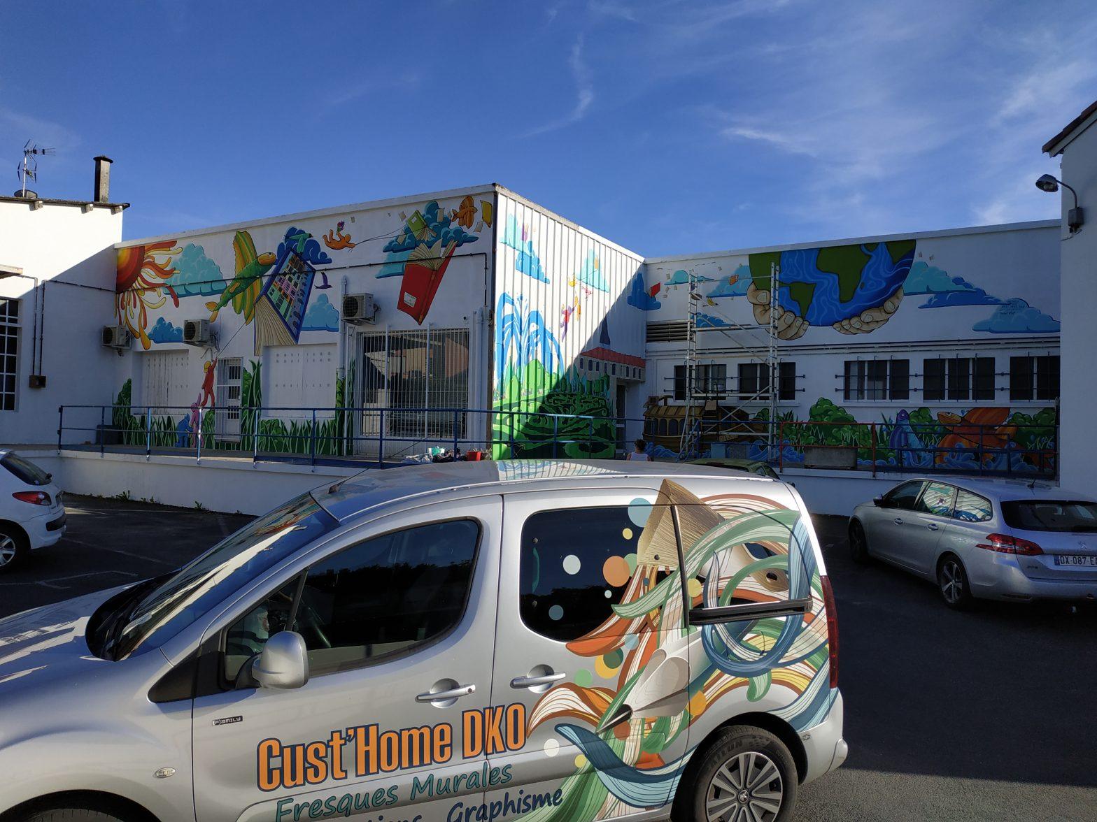 Fresque « Street Art » à Castres